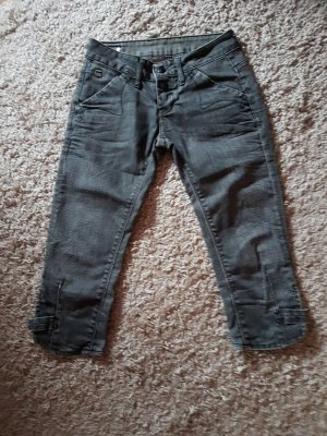 Gstar 3/4-jeans donkergrijs