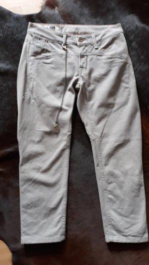 Girbaud 7/8 Length Jeans grey cotton