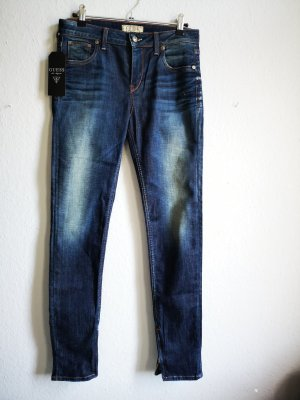 Guess Stretch jeans blauw-staalblauw