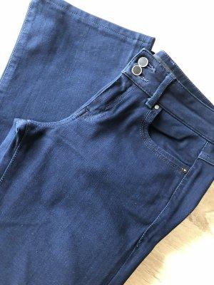 Guess Pantalone a zampa d'elefante blu scuro