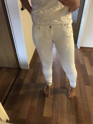 Guess Vaquero skinny blanco