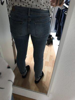 H&M Low Rise jeans azuur