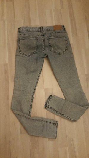 H&M Divided Jeans slim bleu pâle