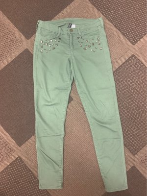 H&M Divided Jeans a 7/8 cachi