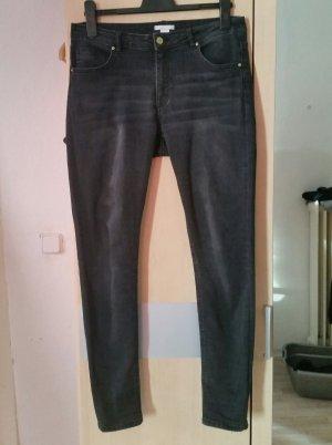 Jeans von H&M Gr. 42 grau