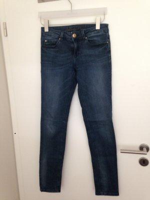 Jeans von Hallhuber, dunkelblau