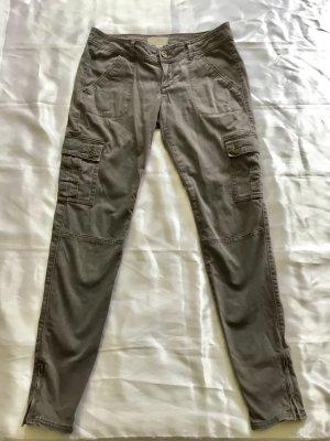 Jeans von Hollister grau/schlamm