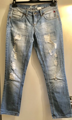Jeans von Joe Browns in hellblau im destroyed Look gr. 19/ 36