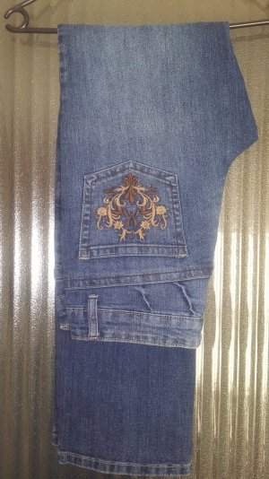 John F. Gee Low Rise Jeans blue