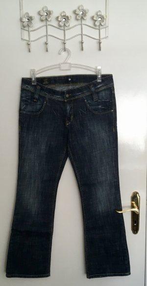 Lee Jeans bootcut bleu foncé