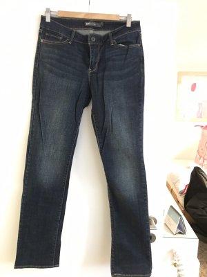 Levi's Jeans met rechte pijpen donkerblauw