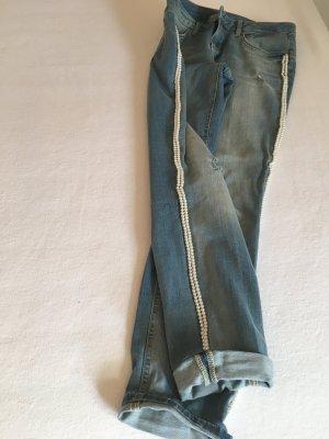 Liu jo Jeans coupe-droite bleu azur
