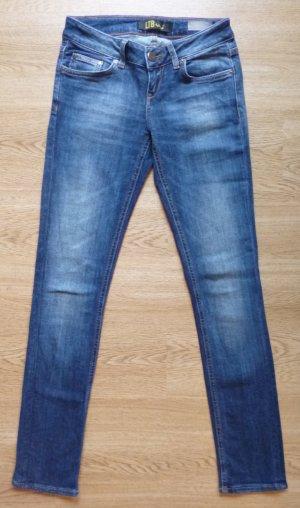 Jeans von LTB dunkelblau Waschung