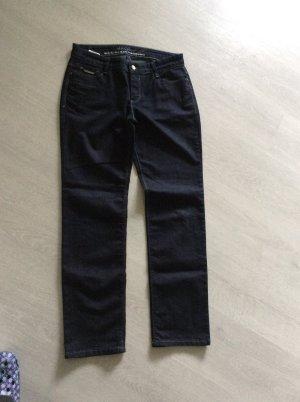 Jeans von MAC Carrie Pipe Gr 40/30 dunkelblau