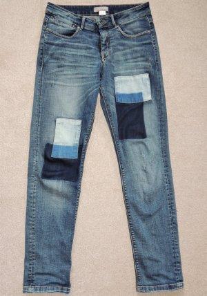 Jeans von Mandarin mit Flicken Größe 36.