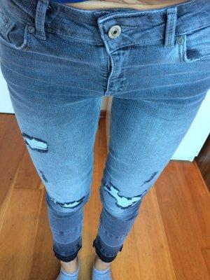 Mango Jeans a 7/8 grigio-grigio scuro