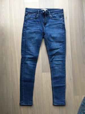 Jeans von Mango blau