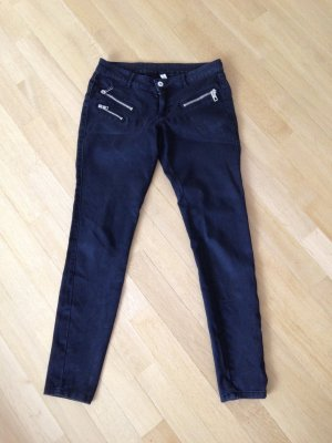 Jeans von Mango, Gr 38, schwarz