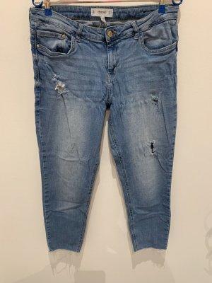 Mango Jeans skinny blu