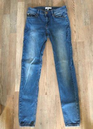 Mango Hoge taille jeans veelkleurig Gemengd weefsel