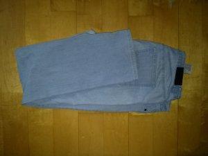 Marco Pecci Pantalon cinq poches bleu clair tissu mixte