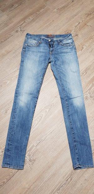 Mavi Jeans Co. Vaquero rectos azul celeste