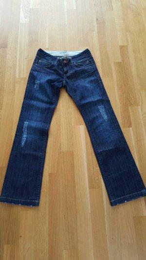 Jeans von Mavi gerader Schnitt im Usedlook