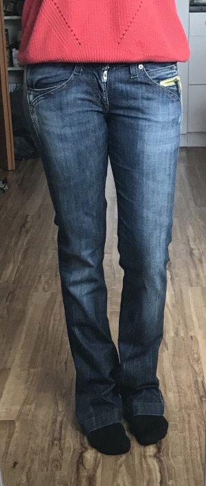 Jeans von Miss Sixty, blau, Bootcut, Schlaghose, Gr. 26, Big Love