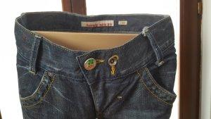 Miss Sixty Boot Cut Jeans cornflower blue-steel blue cotton