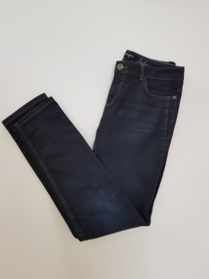 More & More Jeans slim bleu foncé