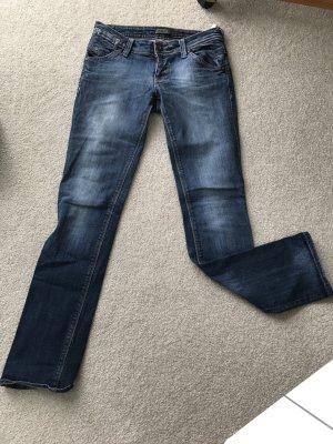 Only Jeans vita bassa blu fiordaliso-blu scuro