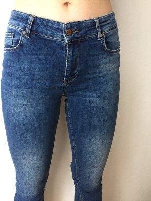 Only Skinny jeans blauw