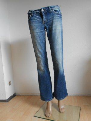 Jeans von Only blau Boot Cut