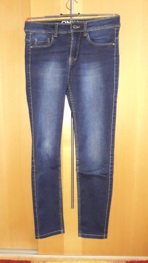 Only Jeans blu scuro Tessuto misto