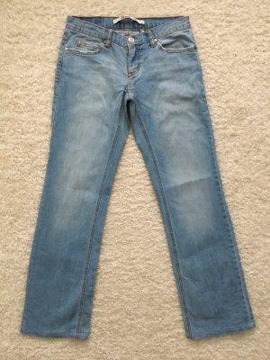 Only Jeans coupe-droite bleu clair-bleu azur
