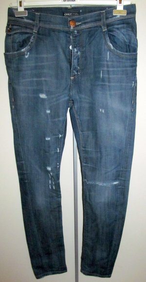Jeans von Only im Used Look