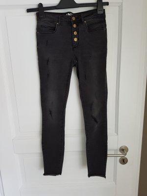 Only Jeans skinny noir-doré