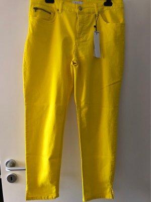 Oui Stretch Jeans yellow