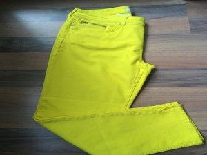 Jeans von Oui Größe 44 Zitronengelb NEU