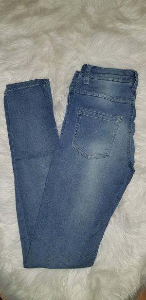 Outfitters nation Jeans coupe-droite bleu pâle-bleu azur