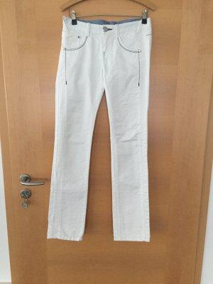 Jeans von PHARD in Gr. 27/32 in weiß