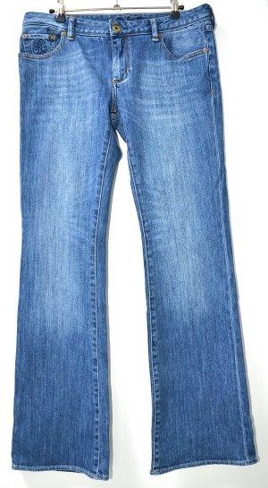 Polo Ralph Lauren Jeans svasati azzurro Tessuto misto