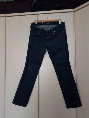 Prada Jeans bootcut bleu foncé coton