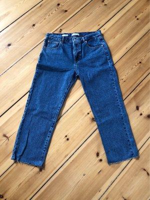Pull & Bear Boyfriend jeans blauw