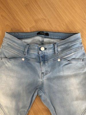 Replay Jeans slim bleu azur