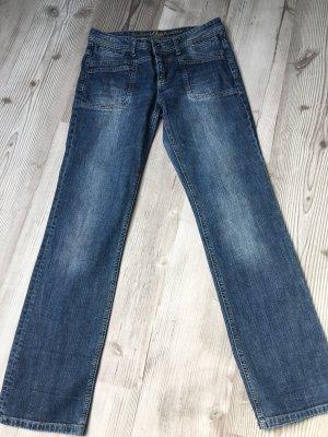 s.Oliver Jeans flare bleu