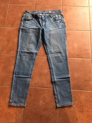s.Oliver Low Rise Jeans azure