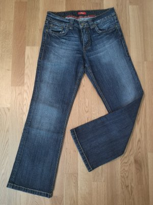 s.Oliver Boot Cut Jeans blue