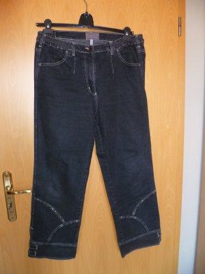 Jeans von Sempre piu Gr.44 black used Look normale Länge NEUWERTIG