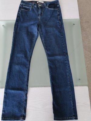 Street One Pantalón de cintura alta azul aciano